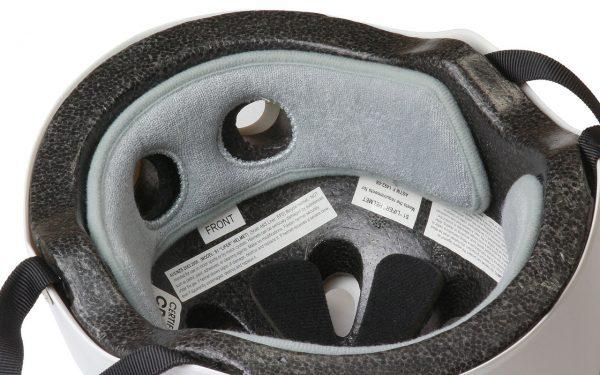 Terry Cloth Liner in helmet