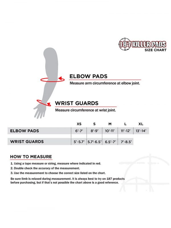 Derby Wrist and Elbow Measurement